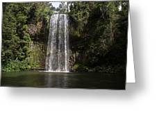 Curtain Falls Greeting Card