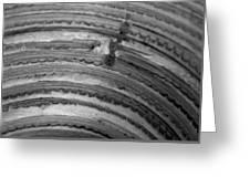 Curve  Greeting Card