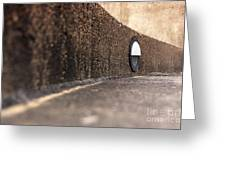 Curved Perspective Greeting Card