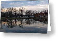 Cushwa Basin C And O Canal Greeting Card
