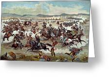 Custer's Last Charge Greeting Card