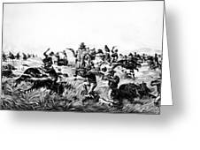 Custer's Last Fight, 1876 Greeting Card