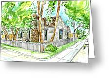 House Portrait Sample Greeting Card