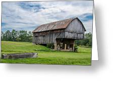 Cut Out Barn Greeting Card