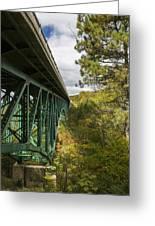 Cut River Bridge 3 A Greeting Card