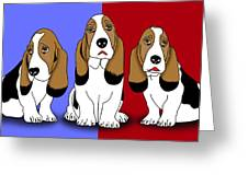 Cute Dogs 2 Greeting Card