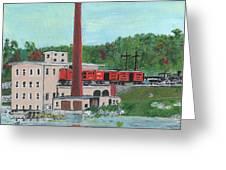 Cutler's Mill - Circa 1870 Greeting Card