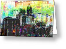 Cutout Art City Optimist Greeting Card