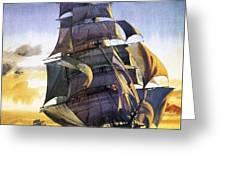 Cutty Sark Greeting Card