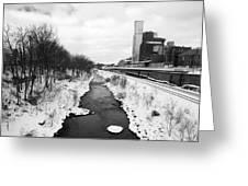 Cuyahoga River Greeting Card