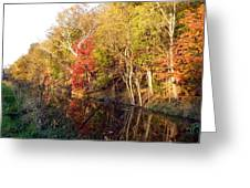 Cuyahoga Valley National Park Autumn Color Greeting Card