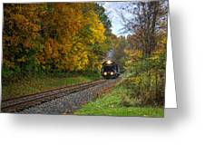 Cuyahoga Valley Scenic Railroad 1 Greeting Card