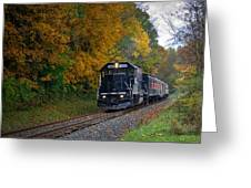 Cuyahoga Valley Scenic Railroad 2 Greeting Card