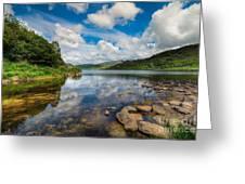 Cwellyn Lake Wales Greeting Card