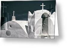 Cycladen Crosses Greeting Card