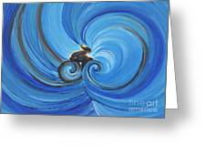 Cycle By Jrr Greeting Card