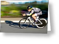 Cycling Prologue Greeting Card