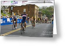 Cycling Stage Win Greeting Card