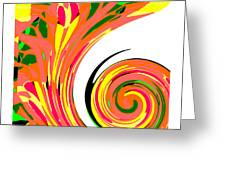 Cyclone Greeting Card