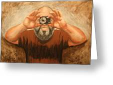 Cyclopes A Self Portrait Greeting Card