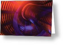 Cylinder And Torus No. 1 Greeting Card