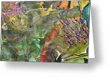 Cynthia's Garden 1 Greeting Card