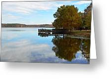 Cypres Reflections Greeting Card