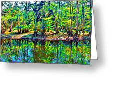 Cypress Coast Greeting Card