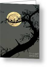 Cypress Moon Greeting Card by Joe Jake Pratt