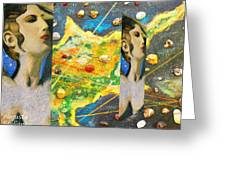Cyprus And Aphrodite Greeting Card