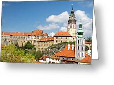 Czech Republic, Chesky Krumlov Greeting Card