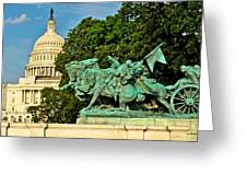D C Monuments 1 Greeting Card