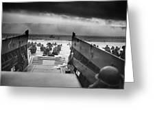 D-day Landing Greeting Card