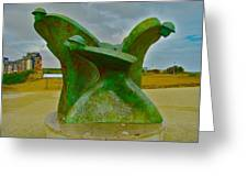 D-day Memorial For Juno Beach Heros Greeting Card