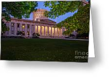 D13l94 Ohio Statehouse Photo Greeting Card