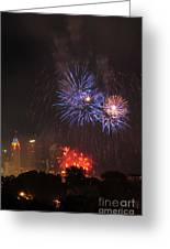 D21l163 Red White And Boom Photo Greeting Card
