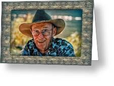Dad In Cowboy Mood Greeting Card