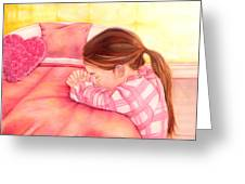 Daddy's Girl Greeting Card by Jeanette Sthamann