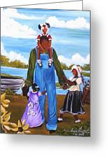 Daddy's Little Girls Greeting Card