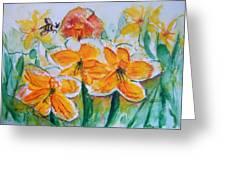 Daffies Greeting Card
