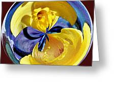 Daffodil Orb Greeting Card