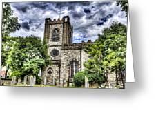 Dagenham Village Church Greeting Card