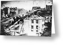 Daguerreotype, 1838 Greeting Card