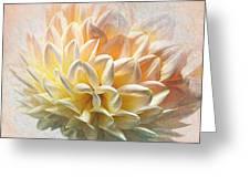 Dahlia Art Greeting Card