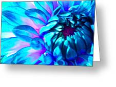 Dahlia In Pastel Greeting Card by James Hammen