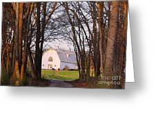 Dairy Barn Greeting Card
