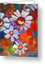 Daisies And Strawberries 2014 Greeting Card