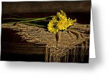 Daisies On The Table Greeting Card