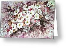 Daisy Blush Remix Greeting Card