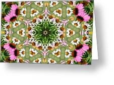 Daisy Daisy Do Kaleidoscope Greeting Card